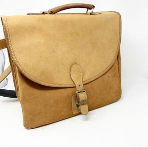 VTG Territory Ahead Nubuck Leather Messenger Bag